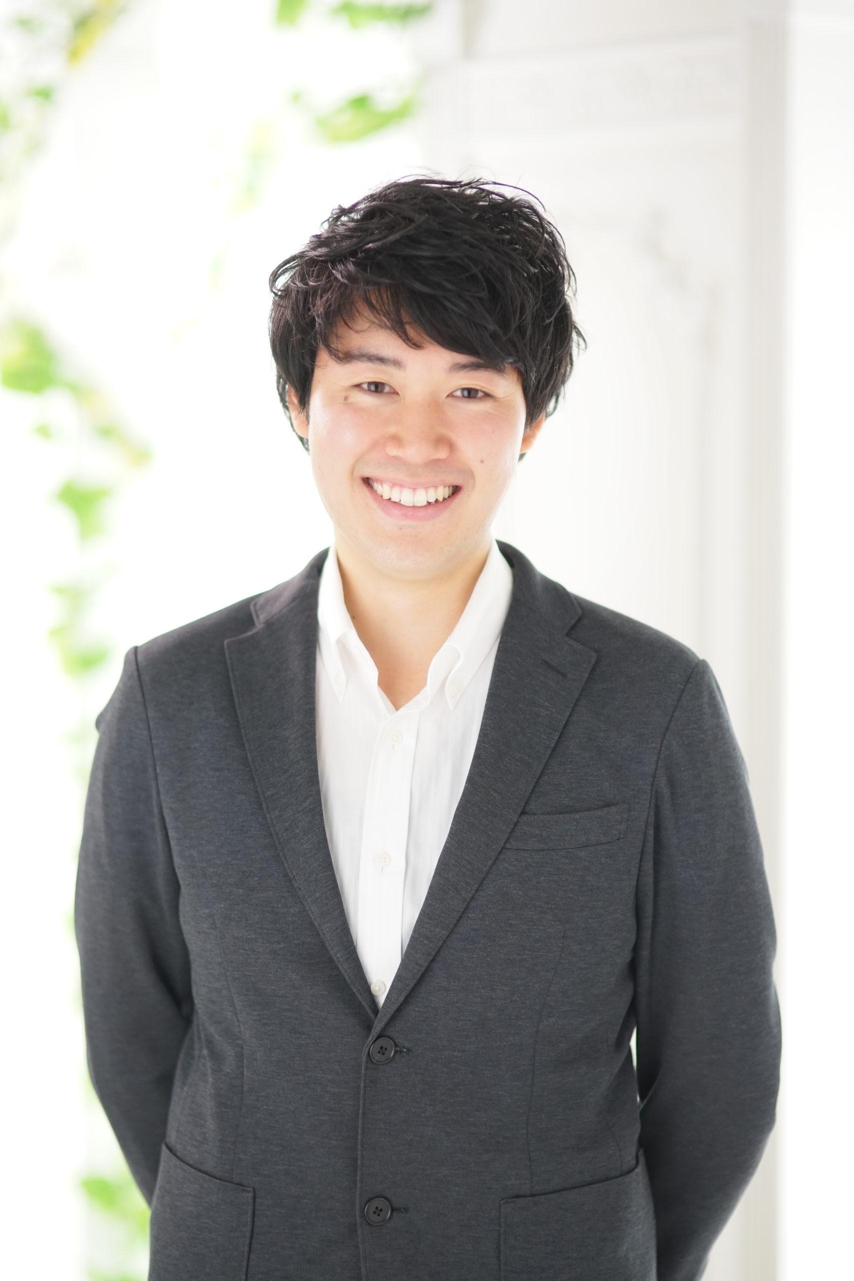 岡本康清のスタッフ紹介ページを作成しました。